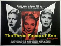 A great film about a woman who has a multiple personality disorder!