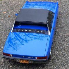 1970 Porsche 914-6 in Adriatic Blue