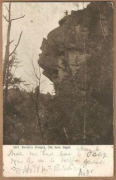 1906 Cornelia GA Devil's Pulpit Walter Hunicutt Tallulah Falls Bar Harbor Me | eBay