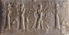 Ninhursag, Enlil, Inanna, & Ninhursag. Innana uses divine alien powered weapons. She was granted privileges & powers by Anu, she was given a sky-ship + the Indus Valley.