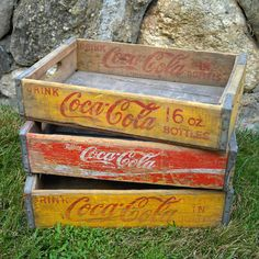 Coca-Cola Crates 3pk by Kings County Salvage