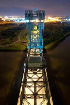 Tees Newport Bridge, Middlesbrough, UK