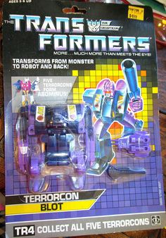 Vintage Transformers Mint in Package Terrorcon by suburbantreasure