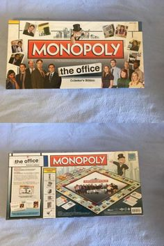 Contemporary Manufacture 180349: The Office Monopoly New Sealed Collector S Edition -> BUY IT NOW ONLY: $99 on eBay!