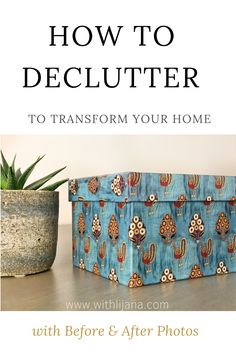 How to declutter and organise to transform your home and lifestyle. I used the Konmari method - I must admit it was fun! Click on the image to see the before and after photos in the article :)