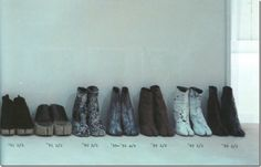 Maison Martin Margiela tabi boots from S/S '89 to '02-'03 A/W