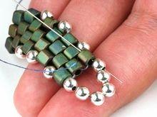 How to embellish peyote stitch by Artbeads.com
