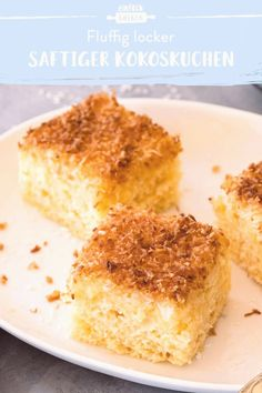 #Easy #baking #dessert #recipes #einfach #schnell Dieser Kokoskuchen überzeugt besonders durch seine saftige Konsistenz Der Blechkuchen mit Buttermilch ist super einfach und schnell zubereitet und damit perfekt für die nächste Party brp classfirstletterYou are in the right place about blechkuchenpHere we offer the Most exquisitely impression about perfekt that you are looking forBy examining the zubereitet part of the photograph you can get the massage we want to offer You can see that this… Dessert Kabobs, Keto Recipes, Cake Recipes, Dessert Recipes, Dinner Recipes, Crockpot Recipes, Quick Dessert, Simple Dessert, Quick Recipes