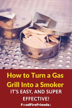 Did you know you can smoke on your gas grill? It's easier than you think! All you need is a smoke box or foil pouch, some wood chips, and this guide. Outdoor Grill Area, Outdoor Grilling, Gas Smoker, Broiler Pan, Grill Grates, Stainless Steel Mesh, Fitness Apparel, Womens Workout Outfits, Smoking Meat
