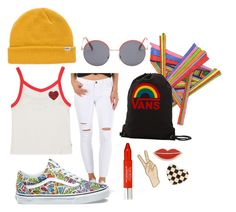 Radnessss by vans on Polyvore featuring Vans, Lucky Brand, Marc Jacobs, Georgia Perry, Trish McEvoy and Clayton