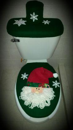 Porta cubiertos de navidad.  adornos navideños ...