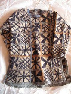 Criss Cross Tunic pattern by Kaffe Fassett | Ravelry .... translate to crochet, using crochet, tapestry graphs