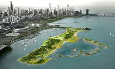In 2010, when Studio Gang Architects & landscape architects Smithgroup JJR released plans for the redevelopment of Northerly Island in Chicago, it was generally viewed as a very long-term project. Now, less than 2 years later, The Chicago Park District & the U.S. Army Corps of Engineers are teaming up to launch phase 1 of the ambitious plan. Studio Gang's plan calls for transforming the 91-acre peninsula, which served as a small airstrip, into a vibrant nature preserve surrounded by…