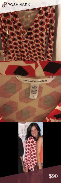 DVF short tunic dress size 0 DVF short tunic dress size 0 Diane von Furstenberg Dresses Mini