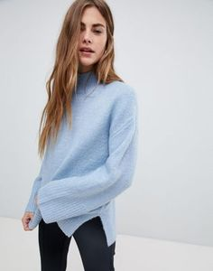 Buy New Look Wide Sleeve Jumper at ASOS. With free delivery and return options (Ts&Cs apply), online shopping has never been so easy. Get the latest trends with ASOS now. Jumpers For Women, Cardigans For Women, High School Outfits, Neue Outfits, Asos Tops, Ootd, Pullover, Sweater Weather, Beautiful Outfits