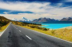 Mount Cook and Pukaki lake, #NewZealand