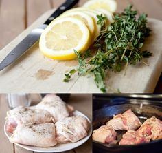 Recipe: Lemon Thyme Chicken Thighs — Weeknight Dinner Recipes from The Kitchn