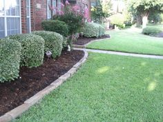 Garden Edging Stone This Is An Easy Way To Create