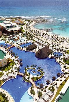 The best place for a destination wedding!!!!!!  Barcelo Maya Palace Deluxe All Inclusive. It was absolutely heaven on Earth. I can't wait to go back for our 10 yr vow renewal!