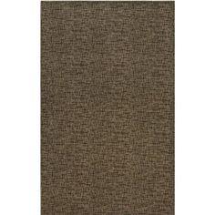 Mercury Row Attalus Brown Indoor/Outdoor Area Rug Rug Size: 5' x 7'