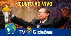 Transmissão ao vivo do culto no templo sede da Igreja Evangélica Assembleia de Deus de Camboriú - SC