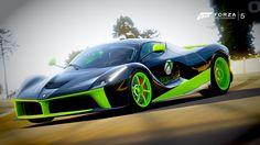 Ferrari Laferrari, Forza Motorsport 6, Videogames, Racing, Car, Vehicles, Sports, Glass Display Case, La Ferrari
