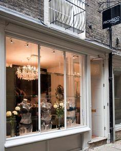 Prohibido (UK)  Prohibido Lingerie, 5 All Saint's Passage, Cambridge,  #boutique #architecture #retail #lingerie