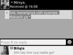 testimony from our lovely customer :)