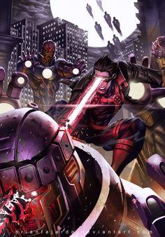 Unique Fan Art by Brian Fajardo, #X_Men