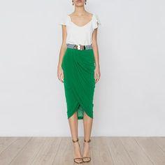 Falda Dora Verde SS17