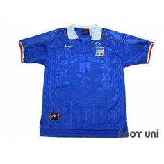 Photo1: Italy 1995 Home Shirt - Football Shirts,Soccer Jerseys,Vintage Classic Retro - Online Store From Footuni Japan