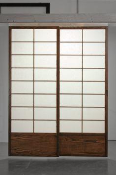 Superb Cherry Tree Design Shoji Closet Doors | Quick Fit Shoji 145