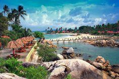 Parai Beach, On Top View