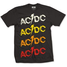 AC/DC Mens Tee: Powerage Repeat Ref:ACDCTS16MB