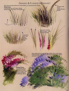 Donna Dewberry - One Stroke Landscapes - Ana Pintura 2 - Picasa Web Albums