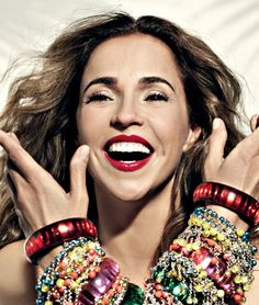 Daniela Mercury-love everything about her especially her music/voice <3