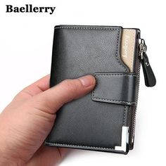 BAELLERRY 2017 Black For Men Wallet