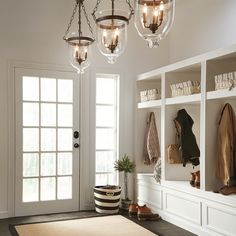 Shop Kichler Lighting Belleville 15.51-in W Olde Bronze Pendant Light with Clear Shade at Lowes.com