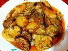 Υλικά 1 κιλό πατάτες 6 κολοκύθια 6 μελιτζάνες 2 πιπεριές Φλωρίνης κομμένες σε ροδέλες 2 πιπεριές πράσινες κομμένες σε μπαστούνια 3 ντομάτ...