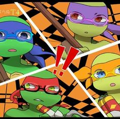 The turtles in glasses