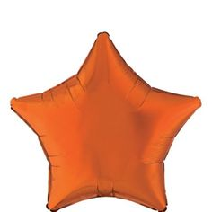 Add some star quality with this decorating basic! This Orange Star Balloon looks great alone and as a complement to a balloon bouquet of your own design. Orange Star Balloon product details: wide Self-sealing Reusable Orange Balloons, Balloons And More, Giant Balloons, Custom Balloons, Halloween Costume Shop, Halloween Party Decor, Halloween Costumes For Kids, Halloween Ball, Modern Halloween