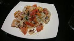 Yam Wun-Sen(Ensalada de fideos de arroz y langostinos con Thermomix.TM 5-TM 31)