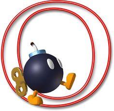 Alfabeto Mario Bros..O