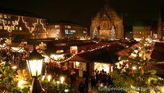 Christkindlesmarkt – Marché de Noël de Nuremberg en Allemagne