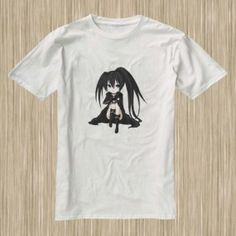 Black★Rock Shooter 10B4 #Black★RockShooter  #Anime #Tshirt