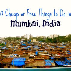 To do in Mumbai: Most importantly, eat some amazing street food! This one is called a Dosa ($2), a thin crepe style bread stuffed with potatoes and spices, with different curries for dipping.  Walk the Colabia district, a waterfront neighborhood and checkout the Gates of India, the... #budgettravel #culture #food