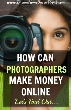 Earn Money Taking Pictures - How Can Photography Lovers Make Money Online? Lets Find Out. In this list I have included a variety of freelance opportunities for experienced artists and photographers. Earn Money Taking Pictures - Photography Jobs Online Freelance Photography, Photography Jobs, Photography Business, Photography Tutorials, Photography Marketing, Photography Studios, Photography Camera, Photography Backdrops, Children Photography