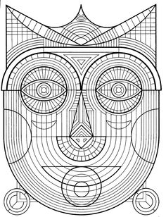 Anxiety Coloring Books Beautiful these Printable Mandala and Abstract Coloring Pages Relieve Stress and Help You Meditate Coloring Pages For Teenagers, Coloring Pages For Grown Ups, Detailed Coloring Pages, Pattern Coloring Pages, Printable Adult Coloring Pages, Animal Coloring Pages, Coloring Pages To Print, Coloring Book Pages, Coloring Sheets