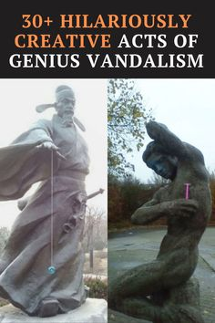 these genius and hilarious acts of vandalism prove that some laws were simply made to be broken.