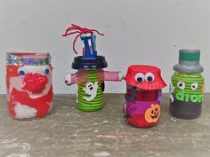 Monster-Geheimverstecke Diy Recycling, Monster, Monsters, Art School, Bricolage, Repurpose, Projects, Ideas